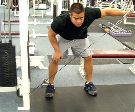bent over lateral raises on incline bench strength training exercises