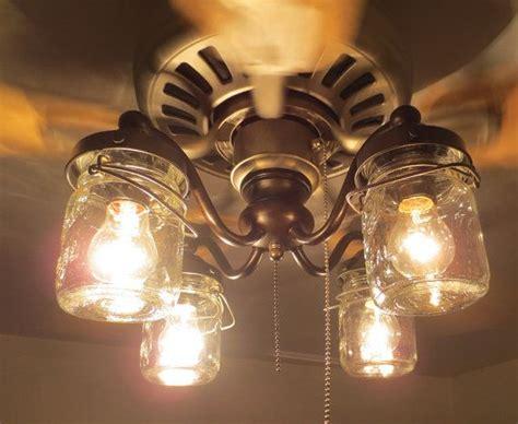 mason jar ceiling fan light kit mason jar ceiling fan light kit only with vintage pints