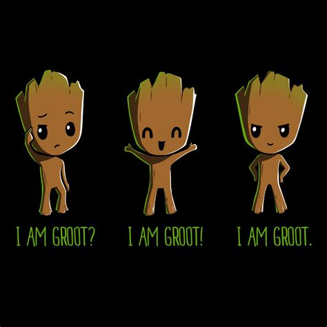 T Shirt I Am i am groot from teeturtle day of the shirt