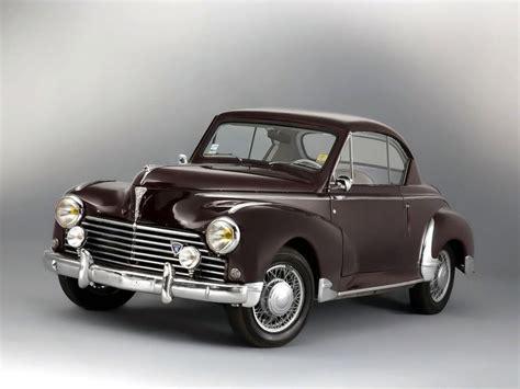 peugeot cars older models peugeot 203 coupe 1952 54 older cars pinterest