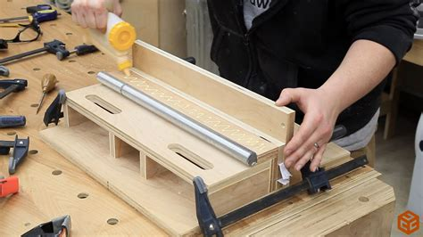 table saw box joint jig without dado table saw box joint jig jays custom creations
