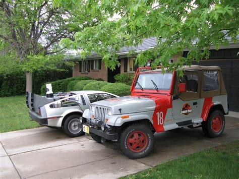 Jurrasic Jeep Back To The Future Props Being Sold Including Delorian