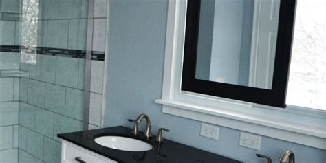 remodelaholic master bathroom renovation  sliding