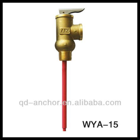 Safety Valve Wika Solar Solarhart temperature and pressure relief water heater valve for pressurized solar water heater view