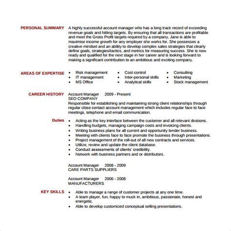 Sample Account Executive Resume – Accounting Job: Resume Tips Accounting Jobs