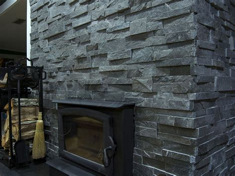 Rock Panels For Fireplace by Stacked For A Fireplace Simple Home Decoration