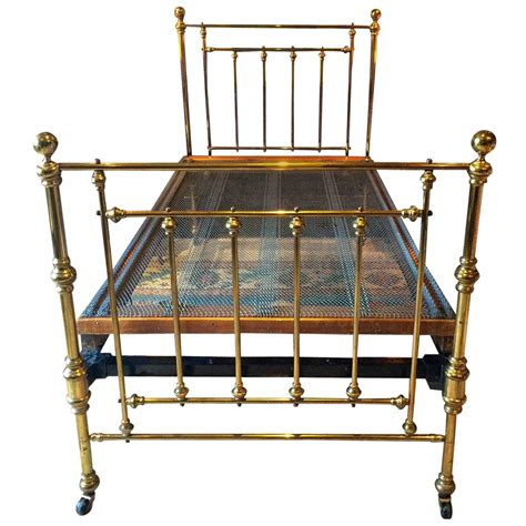 antique brass beds antique bed victorian single brass bed 19th century base
