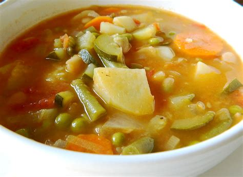 easy vegetable soup recipe for how to make simple vegetable soup