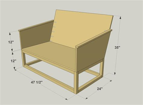 loveseat plans free plans outdoor wood plank loveseat reclaimed wood