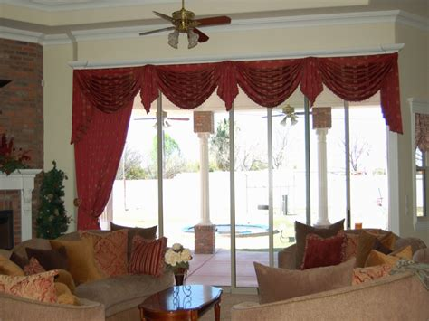 valances for living rooms living room swag curtains valance curtain ideas for living