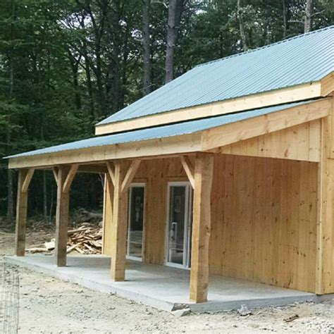 Cabin Roof Construction by Shed Overhang Barn Overhang Porch Overhang Kit