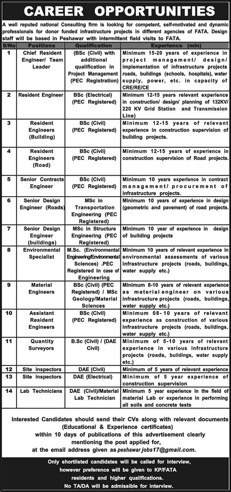 design engineer contract jobs jobs in well reputed national consulting firm 19 dec 2017