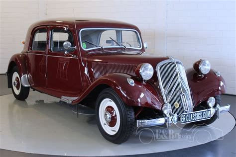 Citroen Traction Avant For Sale by Citro 235 N Traction Avant 11b 1953 For Sale At Erclassics