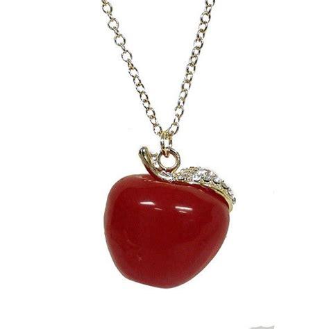 Apple Pendant Necklace iphone apple necklace