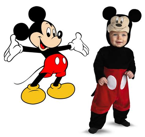 Dress Micky simple mickey mouse costumes for