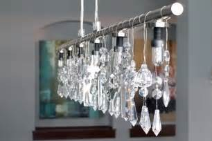 how to make a chandelier out of a l shade diy chandelier oh my creative