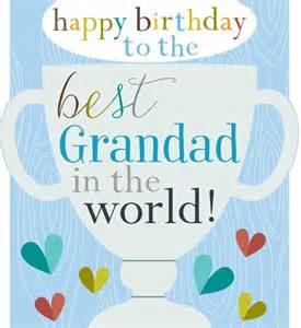best grandad in the world birthday card karenza paperie