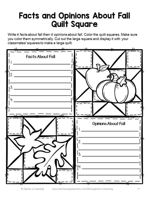printable quilting games fun games 4 learning fall writing quilts
