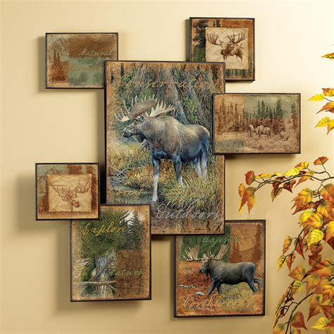 Moose Wall Decor by Moose Wall Collage