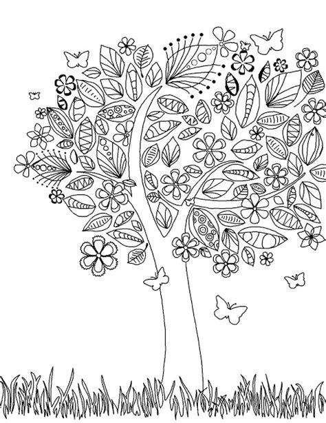 coloring pages abstract flowers coloring page world