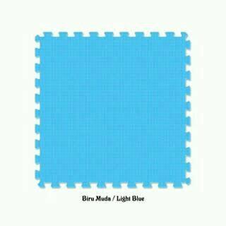 Puzzle Karpet Lantai Evamat Polos jual matras tikar karpet puzzle alas lantai evamat