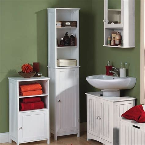 Wilkinson Colonial Tall Cupboard White Now 163 49 00 Wilkinson Bathroom Storage