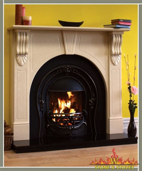 Fireplaces Ie by Arch Surround Only Stoves