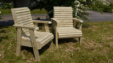garden armchair chunky garden chairs the wooden workshop oakford devon