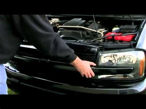 how to remove the grill from a 2006 kia sedona chevy trailblazer grille removal youtube