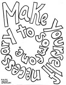 outside the lines coloring page emerson