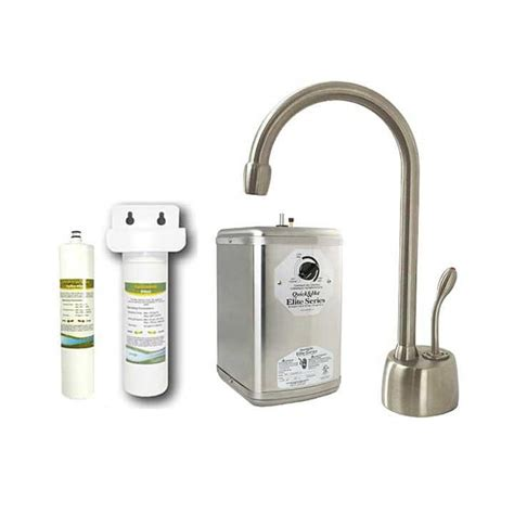 Kitchen Faucets With Pull Out Sprayer by Westbrass Satin Nickel Instant Water Dispenser Kitchen