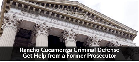 Attorney Rancho Cucamonga by Rancho Cucamonga Criminal Defense Attorney San