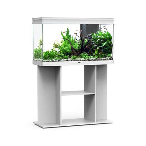 Meuble Aquarium Aquatlantis by Aquarium Et Meuble Elegance Expert 100 Blanc 248 Litres