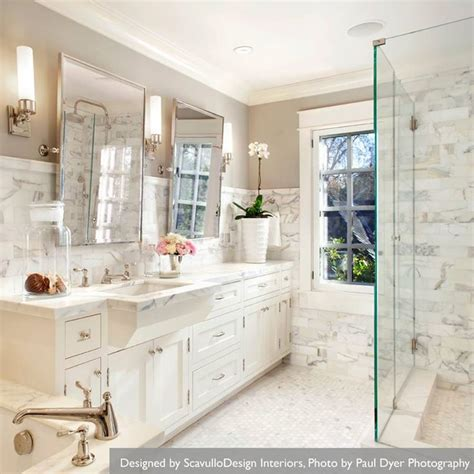 Marble Bathroom Ideas White Marble Bathrooms Luxurious Bathrooms Pinterest