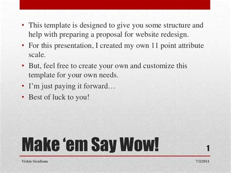 Website Redesign Proposal Template One Piece Website Redesign Rfp Template