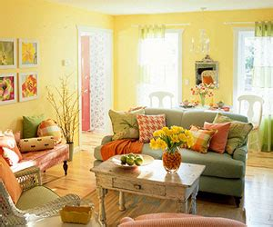 citrus colors for interiors mid summer refreshement