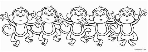 five little monkeys coloring page 5 little monkeys coloring page black and white coloring pages