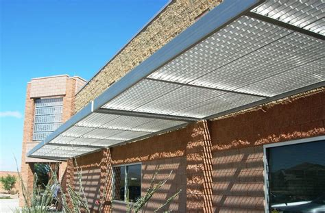 Aluminium Shade Awnings by Sunshade Canopy Ametco Manufacturing