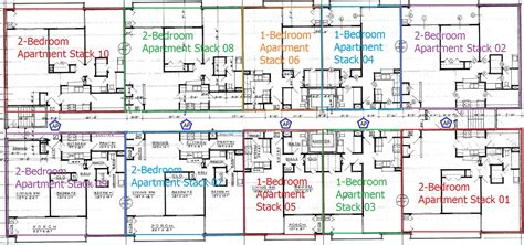 High Rise Floor Plan | highrise apartment building floor plans and north
