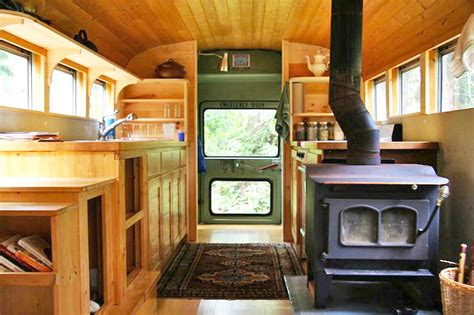 old school bus conversions interior bus conversions clunky old school bus is converted into a sweet earthy