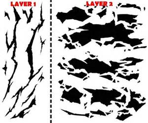camouflage templates for painting winter camouflage airbrush stencil air brush template