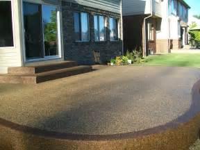 aggregate patio