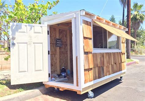 tiny houses in los angeles tiny houses homeless los angeles
