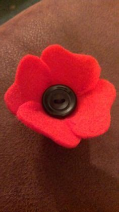 pattern for felt poppy felt poppies for remembrance day memorial day craft