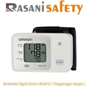 Tensimeter Digital Pergelangan Tangan tensimeter digital omron hem 6121 rasani safety