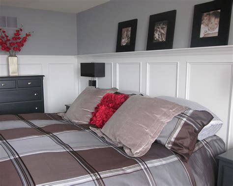Bedroom Wainscoting | master bedroom wainscoting completely type a