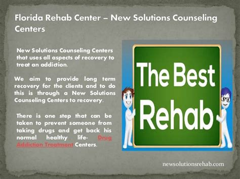 Florida Detox by Florida Rehab Center Treatment Programs For Addiction