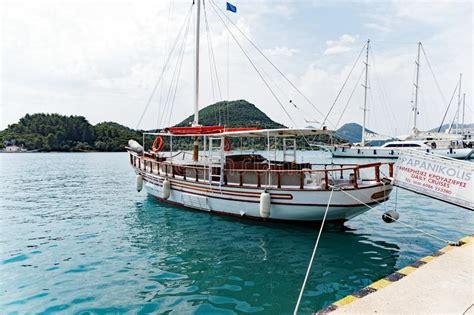 small boat greek island cruises small day cruise caique lefkada greek island greece