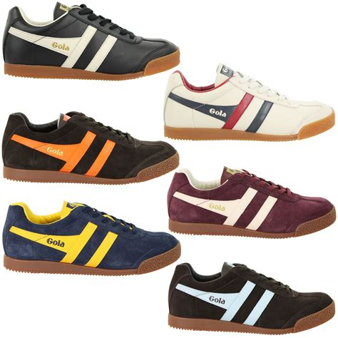 Gola Shoes Original mens gola classic trainer the original harrier style