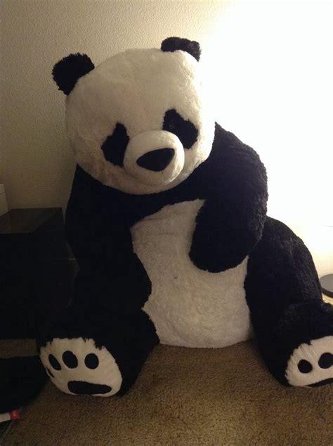 big stuffed stuffed panda